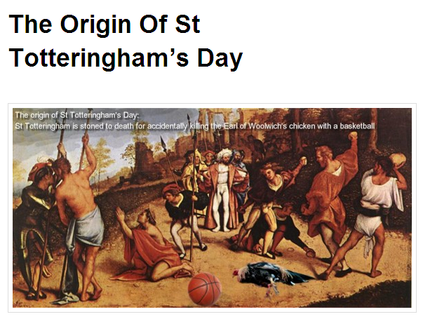 st. totteringhams day