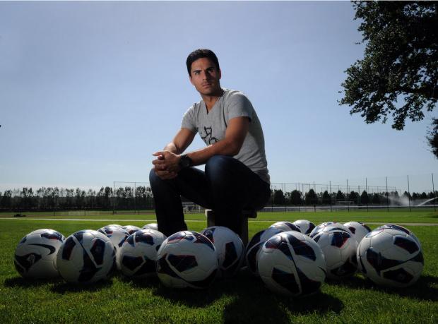 Mikel Arteta has balls.