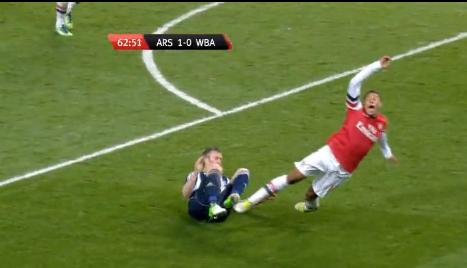 Arsenal v W.B.A. - Matches - Arsenal Player(2)