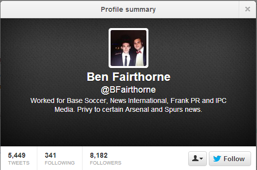 (4) Twitter - Search - ben fairthorne