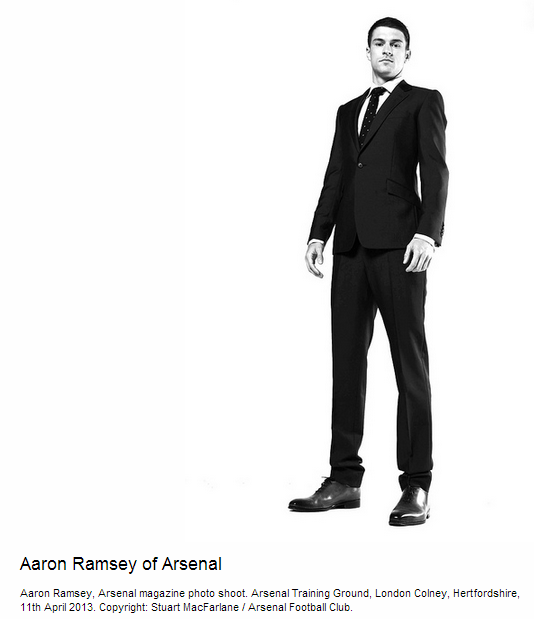 Aaron Ramsey of Arsenal - Flickr - Photo Sharing!