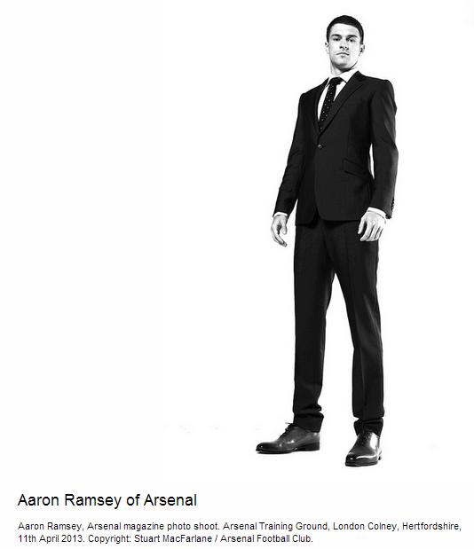 Aaron Ramsey of Arsenal - Flickr - Photo Sharing!
