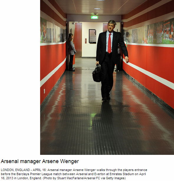 Arsenal manager Arsene Wenger - Flickr - Photo Sharing!