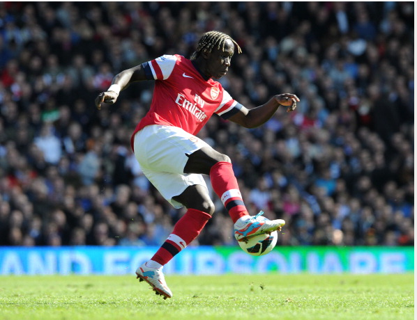 Bacary Sagna Of Arsenal In Action During The Barclays… News Photo - Getty Images - 167099854