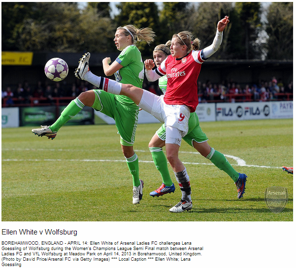 Ellen White v Wolfsburg - Flickr - Photo Sharing!