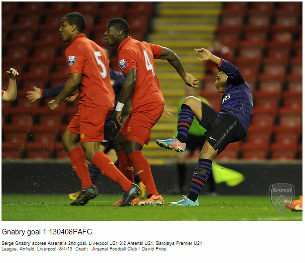 Gnabry goal 1 130408PAFC - Flickr - Photo Sharing!
