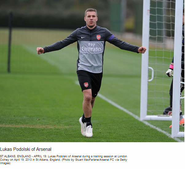 Lukas Podolski of Arsenal - Flickr - Photo Sharing!