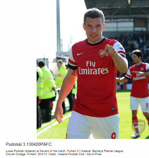 Podolski 3 130420PAFC - Flickr - Photo Sharing!