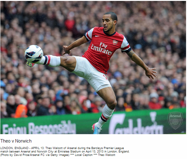 Theo v Norwich - Flickr - Photo Sharing!