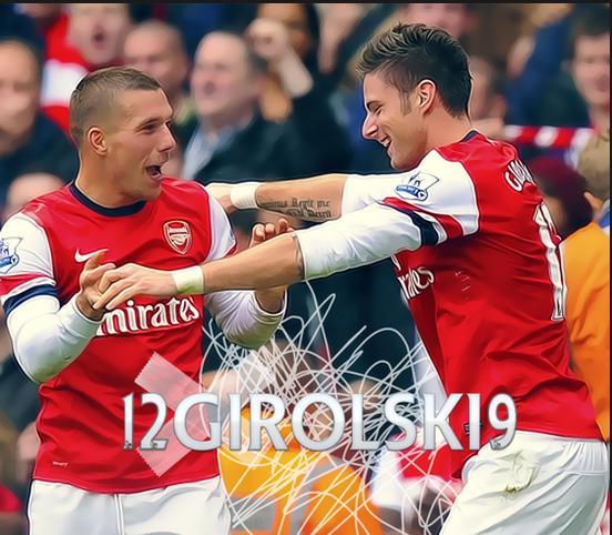 Twitter - Arsenal_Supremo- Giroud + Podolski= Girolski, ...
