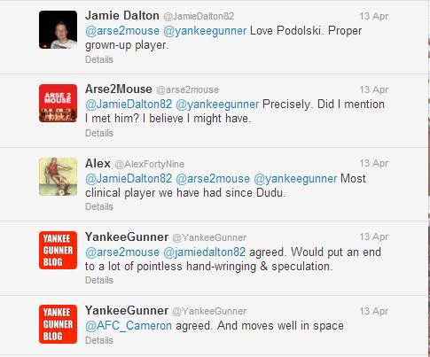 Twitter - YankeeGunner- Just can't imagine why poldi ...(1)