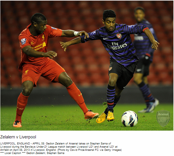 Zelalem v Liverpool - Flickr - Photo Sharing!