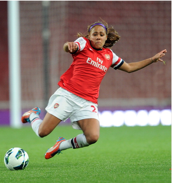 Alex Scott Of Arsenal During The FA Womens Super League… News Photo - Getty Images - 168254357