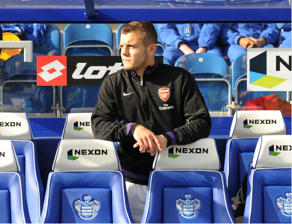 Jack Wilshere Of Arsenal Before The Barclays Premier League… News Photo - Getty Images - 168029821