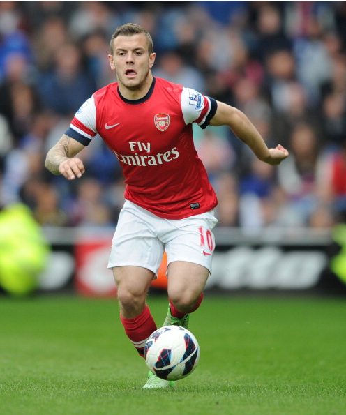 Jack Wilshere Of Arsenal During The Barclays Premier League… News Photo - Getty Images - 168029963