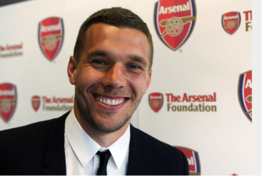 Lukas Podolski Attends The Arsenal Foundation Ball At… News Photo - Getty Images - 168306657
