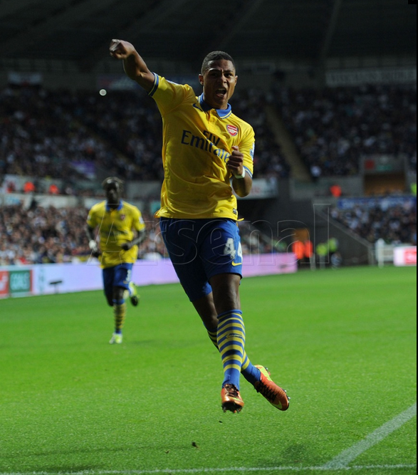 Gnabry celebration 2