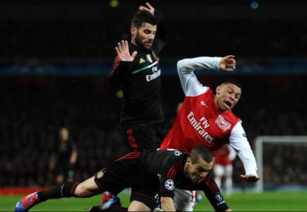 Ox splits defenders
