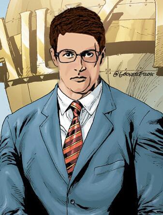 Clark Kent head